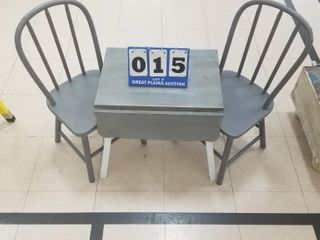 Children s Table and 2 Chairs