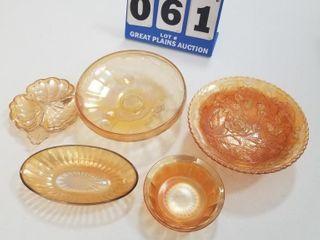 5 piece Glassware Set