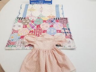 lot of Doll Quilts  2    Doll Dress