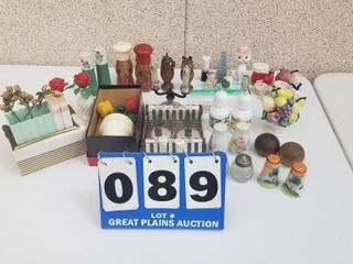 lot of Salt and Pepper Shakers