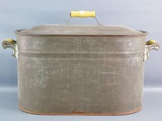 Galvanized Boiler and lid