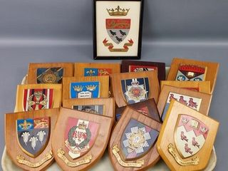 Painted coats of arms