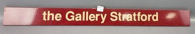 the Gallery Stratford  Sign