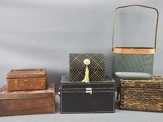 leather boxes etc