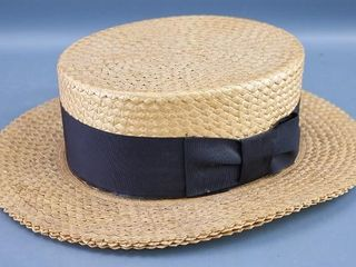 Straw  Boater  hat