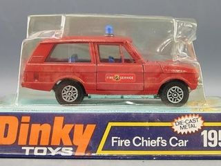 Dinky toy  Fire Chief s Car 195