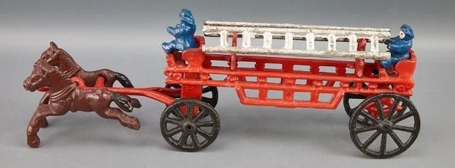 Reproduction 19th C  Fire truck