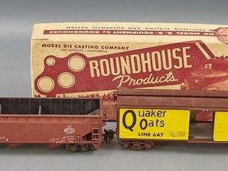 Roundhouse die cast models