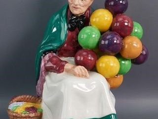 The Old Balloon Seller  Royal Doulton Figurine