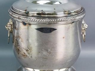 Roger Bros Silver Plate Ice Bucket