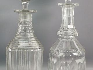 Cut Crystal Decanters