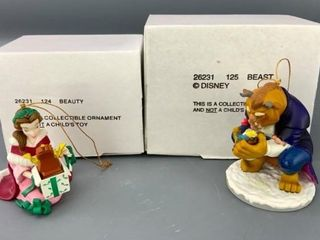 Disney s  Beauty  and  Beast  Christmas Ornaments