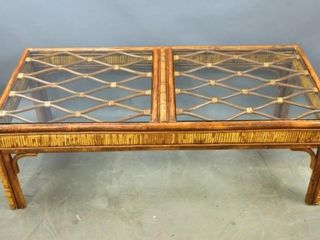 Rattan  Style Coffee Table