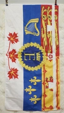 Royal Standard of Prince Edward in Canada Flag
