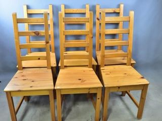 Set of 6 Contemporary Dining Chairs