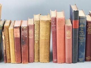 large Collection of Vintage Books