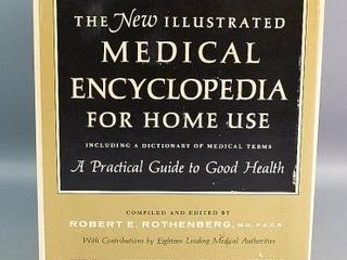 4 Volume Set The Illustrated Medical Encyclopedia