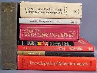 Reference Books on Music