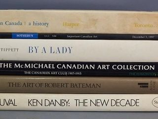 Books on Canadian Art and Artists