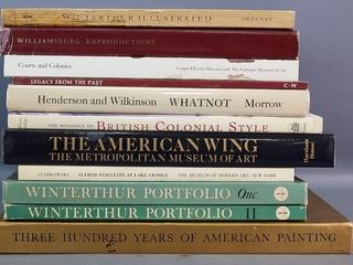 Collection of American Furniture and Art Books
