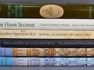 Collection of English Art Books