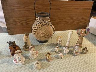 angel   other figurines  mini tea seat