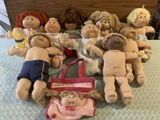 Cabbage Patch dolls  Ty   other stuffed animals