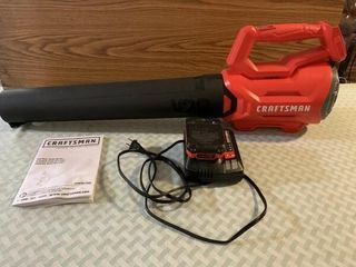 Craftsman 20V blower