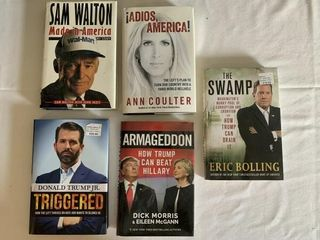 Books  incl  Triggered  Armageddon    The Swamp