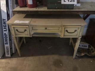 Vintage off white desk
