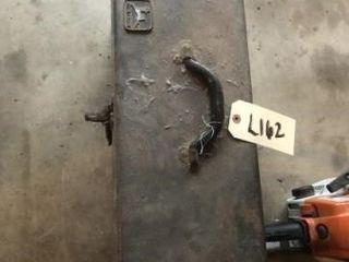 Metal tool box w  misc  tools