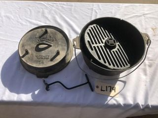 lewis and Clark Cast Iron Dutch oven
