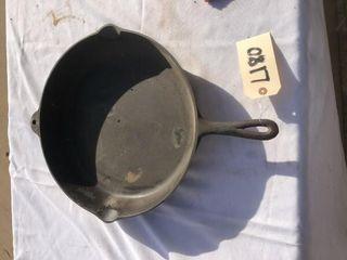Cast iron frying pan 19