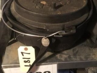Cast iron dutch oven lewis and Clark Corps of