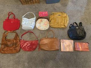 purses  wallet  make up bags  incl  Coach