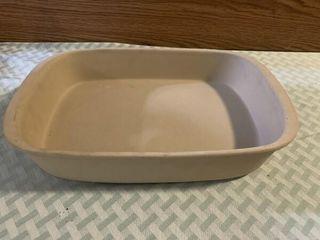 Pampered Chef stone casserole dish  knife set