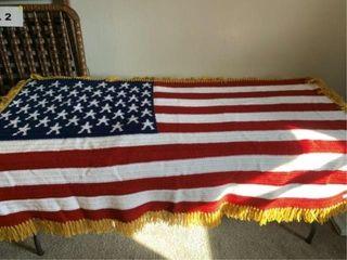 American flag throw  throw pillows  bedding