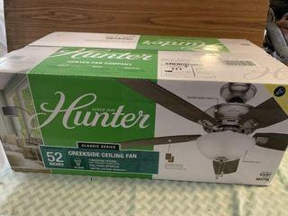 Hunter ceiling fan 52
