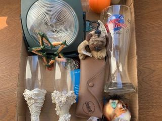An assortment of household items
