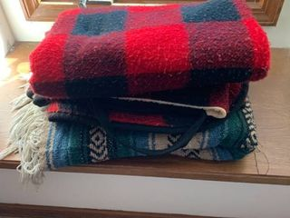 Set of two blankets