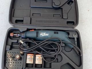 Black and Decker wizard rotary tool