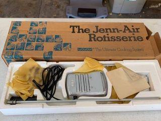 The Jenn Air rotisserie