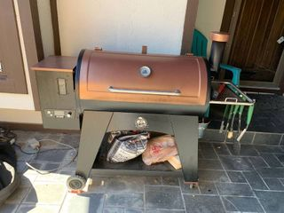 Pit boss pellet grill with cover and accessories