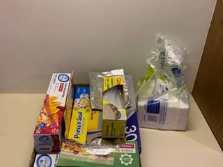 Assorted paper goods