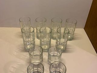 Set of glassware 11 pieces