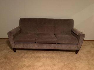 Flexsteel sofa dark tan