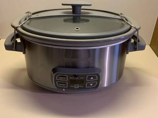 Black and decker crockpot with locking lid