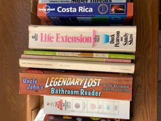 An assortment of books