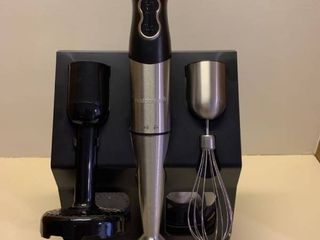 Farberware emulsifier with attachments