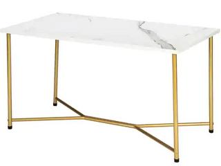 Marble Iron Feet Table